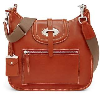 Dooney & Bourke Front Zip Leather Crossbody Bag