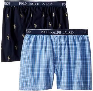 Polo Ralph Lauren 2-Pack Woven Boxers Boy's Underwear
