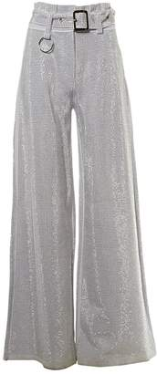 I.AM.GIA Grey Synthetic Trousers