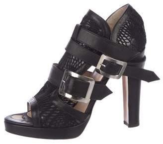 Jean Paul Gaultier Leather Buckle Sandals