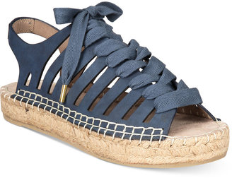 Seven Dials Wylie Lace-Up Espadrille Sandals $49 thestylecure.com