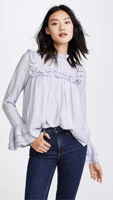 ENGLISH FACTORY Ruffled Blouse