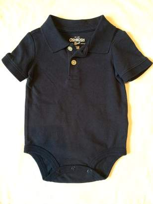 Osh Kosh Baby Boys' Piqué Polo Bodysuit 6M-24M (6M, )