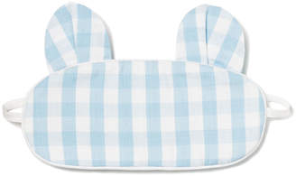 Petite Plume Kids' Bear-y Sweet Gingham Eye Mask