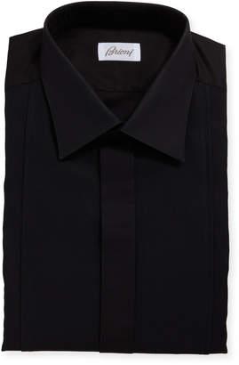 Brioni Men's Bib Front Formal Tuxedo Dress Shirt