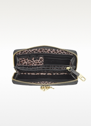 Juicy Couture Bedford Leather Zip Wallet