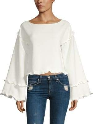 LIKELY Kenmore Cropped Top