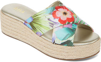 A.N.A Womens Erin Wedge Sandals