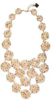 Rosantica By Michela Panero - Pizzo Bead Embellished Spiral Necklace - Womens - Multi