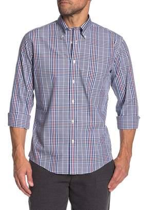 Brooks Brothers Trim Fit Large Check Dress Shirt