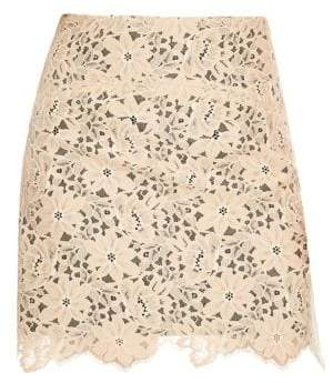 Sandro Helena Lace Mini Skirt