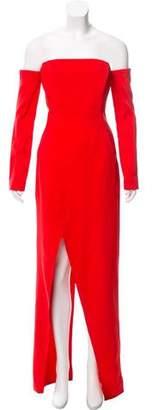 Thierry Mugler 2017 Off-The-Shoulder Dress