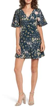 Band of Gypsies Moody Floral Dress