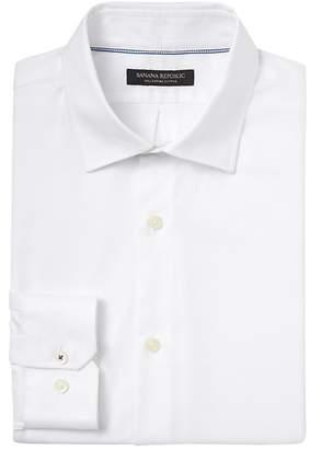Banana Republic Camden Standard-Fit SUPIMA® Cotton Textured Shirt