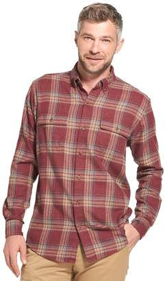 Arrow Men's Saranac Classic-Fit Plaid Flannel Button-Down Shirt