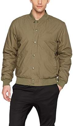 Obey Men's Ranks Regular Fit Bomber Jacket