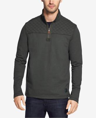 G.H. Bass Men's Mountain Wash Quarter-Zip Fleece Pullover
