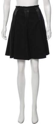 See by Chloe Wool Knee- Length Skirt