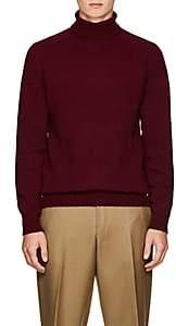 Officine Generale Men's Wool Turtleneck Sweater-Red