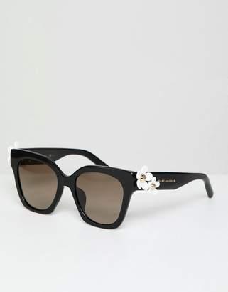 Marc Jacobs daisy square sunglasses