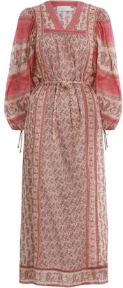 Zimmermann Juniper Rioting Paisley Dress