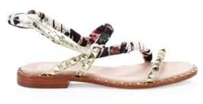 Ash Pattaya Mixed-Media Sandals