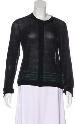 Balenciaga Long Sleeve Wool Top