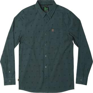 Hippy-Tree Hippy Tree Token Woven Long-Sleeve Shirt - Men's