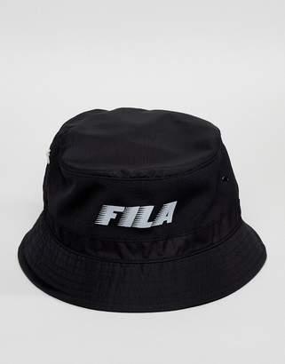 Fila Boyd Bucket Hat In Black