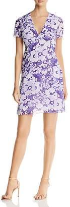 MICHAEL Michael Kors Spring Floral V-Neck Dress