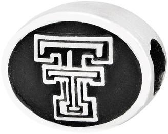 Sterling Silver Texas Tech University Bead