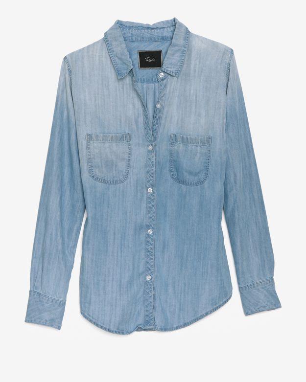 Denim Shirt: Vintage Wash
