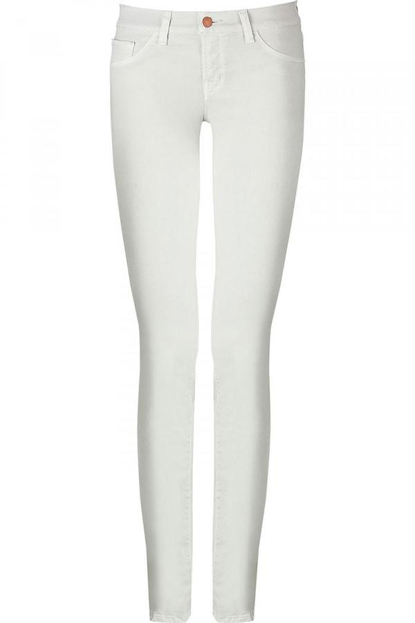 J Brand Vintage Off White Pencil Leg Jeans