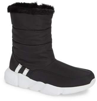 2a87cb5cdd236c Steve Madden Black Chunky Heel Women s Boots - ShopStyle