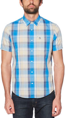 Original Penguin CORDED PLAID SHIRT