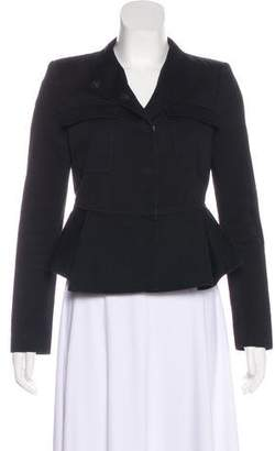 Givenchy Peplum-Accented Jacket
