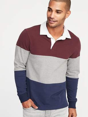 Old Navy Color-Blocked Jersey Rugby for Men