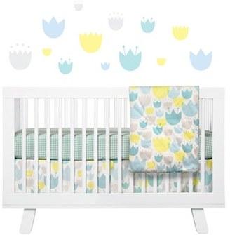 Babyletto 'Garden' Crib Sheet, Crib Skirt, Stroller Blanket & Wall Decals $89 thestylecure.com