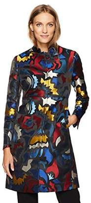 Anne Klein Women's Abstract Jacquard Topper