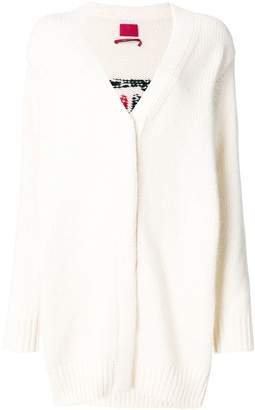 Moncler long line cardigan