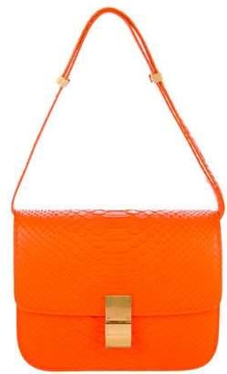 Celine Medium Python Box Bag