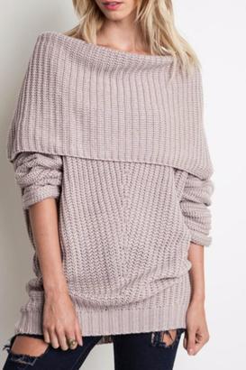 Umgee USA Ribbed Sweater $65 thestylecure.com