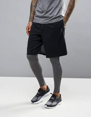 Saucony Running Cityside Shorts In Black SA81309-BK $79 thestylecure.com
