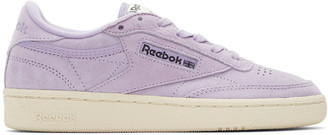 Reebok Classics Purple Club C 85 Pastels Sneakers $75 thestylecure.com