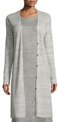 Eileen Fisher Fisher Project Ribbed Long Cardigan $278 thestylecure.com