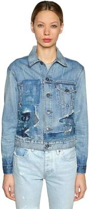 Levi's Patchwork Denim Trucker Jacket