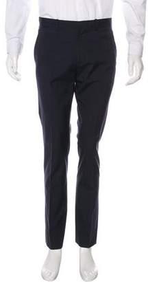 Theory Striped Wool-Blend Pants