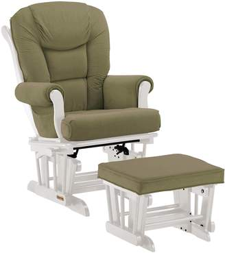 Shermag Combo Glider with Lock/Ottoman