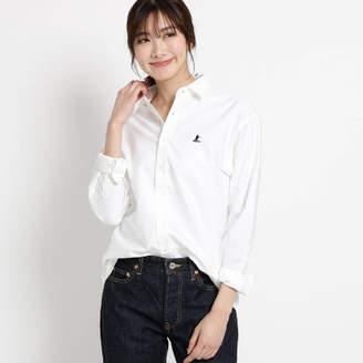 Dessin (デッサン) - Dessin(Ladies) 【洗える】刺しゅうオックスシャツ