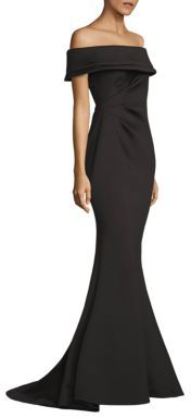 Jovani Scuba Evening Gown $590 thestylecure.com